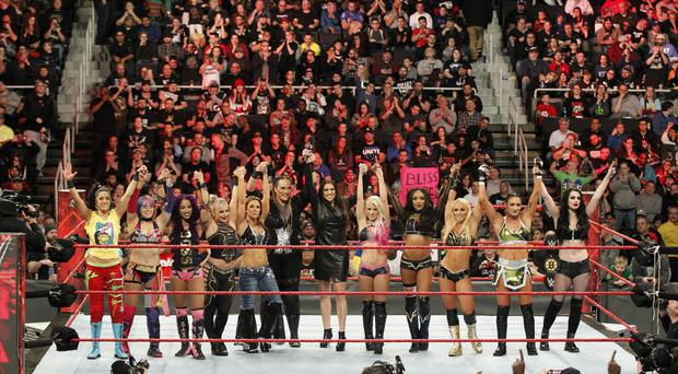 Stephanie McMahon announces the first all-female Royal Rumble WWE match - (WWE)