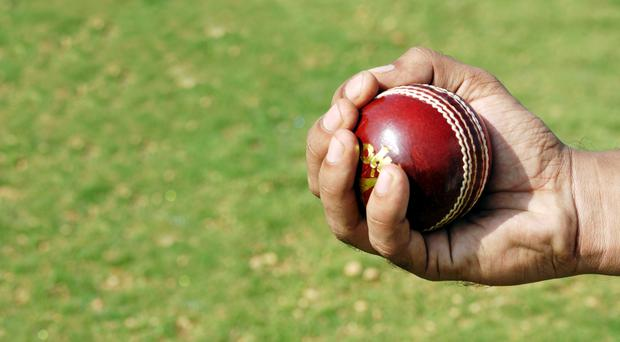 A one-handed cricket catch