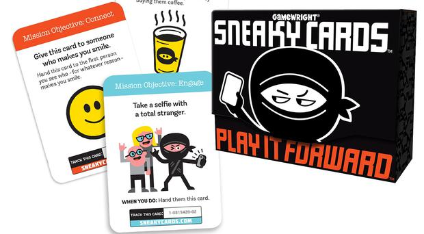 Deck of Sneaky Cards (Sneaky Cards/PA)