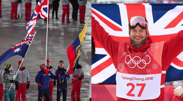 Great Britain snowboarder Billy Morgan
