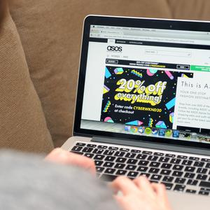 Asos is happy to laugh at its mistake (Tim Goode/PA)