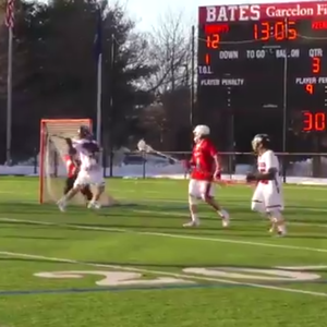 The goal was so good it earned the top spot on ESPN's SportCenter Top 10 (@BatesSports/Twitter/PA)