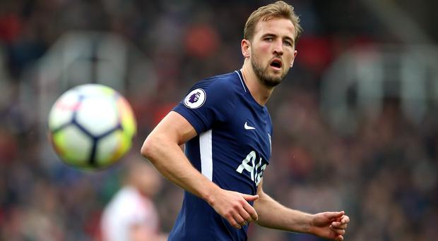 Premier League award Harry Kane second goal against Stoke City