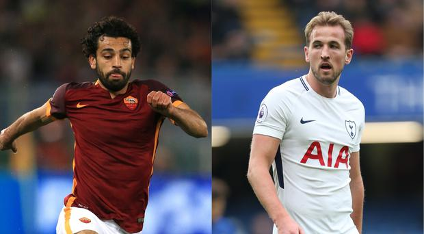 Salah and Kane