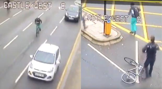 CCTV footage of the incident (South Wales Police)