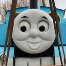 Thomas The Tank Engine leaves Drusillas Zoo Park in East Sussex (Gareth Fuller/PA)