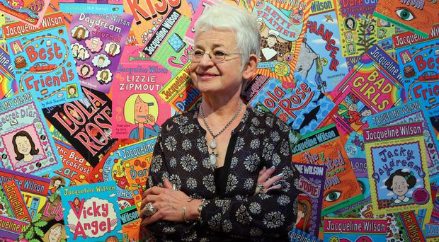 Dame Jacqueline Wilson is releasing a new book in which Tracy Beaker has a daughter. (Gareth Fuller/PA)