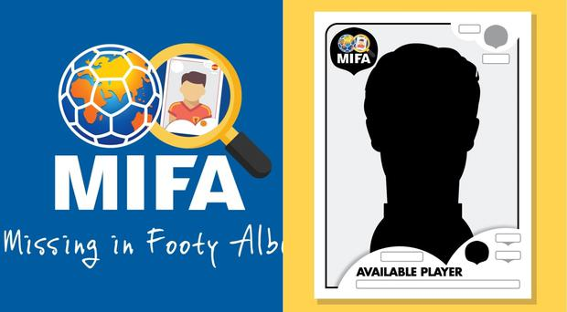The project aims to create illustrated stickers for footballers going to the World Cup who aren't in the Panini sticker album
