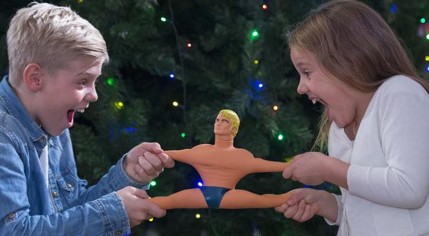 Stretch Armstrong (Victoria Jones/PA)