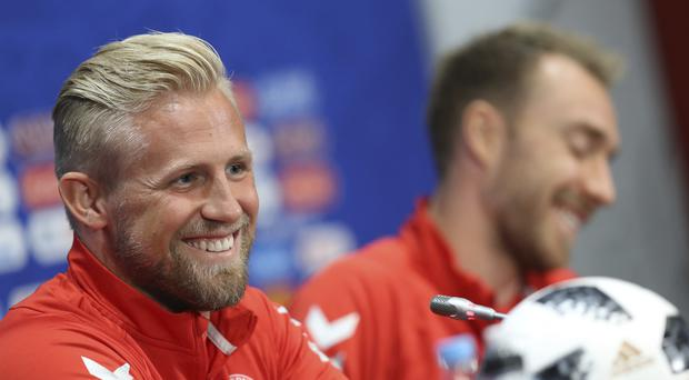 Peru v Denmark gave offended people the perfect football pun to work with (David Vincent/AP)
