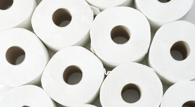 Online auction features 100 Desna toilet rolls being sold in packs of 12 for £255 in the 41-lot auction (S847/Getty Images)