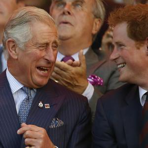 Humour was out in force on National Tell a Joke Day (Luke MacGregor/PA)