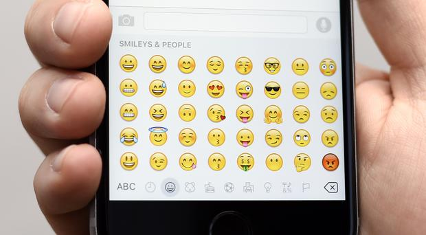 How is your emoji use?(Lauren Hurley/PA)