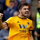 Ruben Neves recreated his goal against Derby for Soccer AM (Nick Potts/PA)