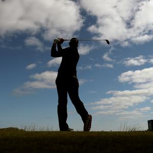 French golfer Matthieu Pavon at the Irish Open – (Niall Carson/PA)