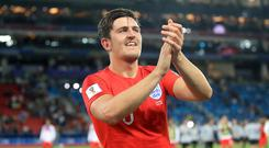 Unfortunately for Harry Maguire, the reigning monarch is the only living person who appears on banknotes (Adam Davy/PA)