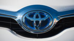 Toyota is replacing the vehicle (Dominic Lipinski/PA)