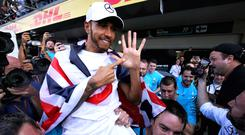 Lewis Hamilton has received criticism from Indian F1 fans (PA Wire)