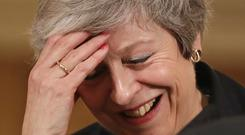 Some wondered whether Mrs May would resign (Matt Dunham/PA)