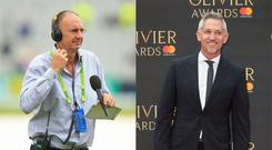 BBC cricket correspondent Jonathan Agnew and former England footballer Gary Lineker – (Mike Egerton/PA and Isabel Infantes/PA)