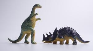Two toy dinosaurs – (eskaylim/Getty Images)