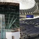 Tottenham Hotspur's new White Hart Lane stadium in London was opened to a number of fans – (John Walton/PA and Paul West)
