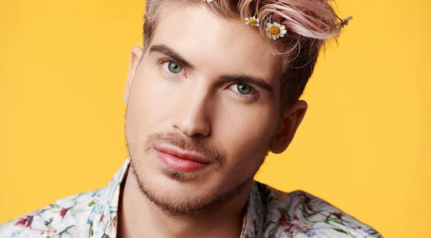 Joey Graceffa says there is not enough support for popular YouTubers to deal with the pressures of online fame (Michael Becker/PA)