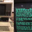 Apple IIe discovered by a man in his parent's attic still in working order (John Pfaff/PA)