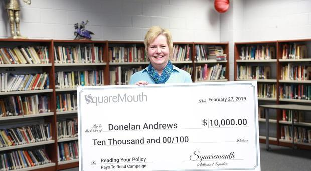 Teacher Donelan Andrews said she always reads the small print (Squaremouth/PA)