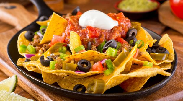 A plate of nachos (Fudio/Getty Images)