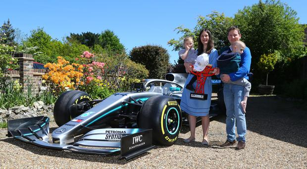 Lewis Hamilton dedicated his victory at the Spanish Grand Prix to five-year-old Harry Shaw (Gareth Fuller/PA)