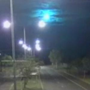 A suspected meteorite is filmed over Australia (Northern Territory Police, Fire and Emergency Services)