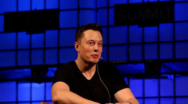 Elon Musk changed his Twitter bio to 'absolut unit' (Brian Lawless/PA Images)