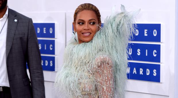 Beyonce Knowles arriving at the MTV Video Music Awards 2016, Madison Square Garden, New York City (PA)