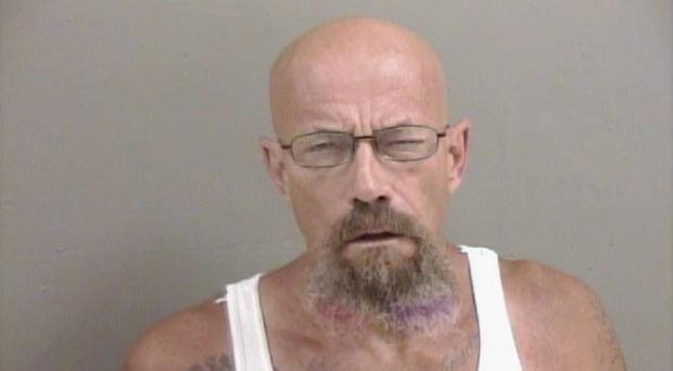 A man sought by police who resembles Walter White from Breaking Bad (Galesburg Police Department)