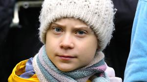Greta Thunberg has encouraged her followers to listen to the experts (Aaron Chown/PA)