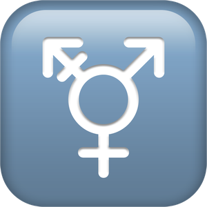 The Transgender symbol has been introduced for the first time. (Apple)
