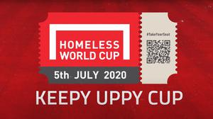 The day will also see the final of both the men's and women's Homeless World (Keepy Uppy) Cup final (Homeless World Cup/PA)