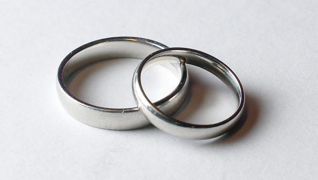 A wedding band was among the jewellery stolen. (stock photo)