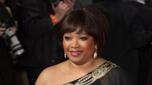 Zindzi Mandela arriving for the Royal Film Performance of Mandela: Long Walk to Freedom, at the Odeon Leicester Square in London (Gareth Fuller/PA)