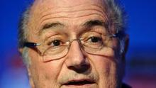 Fifa president Sepp Blatter has faced furious criticism from his Uefa counterparts