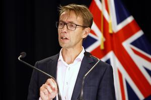 New Zealand Director-General of Health Ashley Bloomfield (Nick Perry/AP)