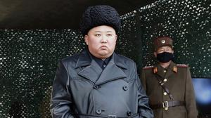 North Korea, led by Kim Jong Un, has been criticised after it launched suspected missiles into the sea (Korean Central News Agency/Korea News Service/AP)