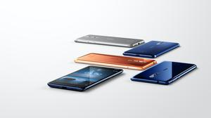 Undated handout photo issued by Nokia of its first flagship Android smartphone, the Nokia 8 Nokia/HMD Global/AP)