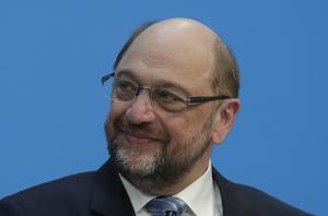 Martin Schulz must now convince his own party's members in order for the new government to be formed (AP)