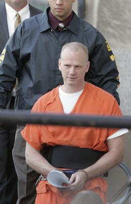 Dustin Honken, pictured in 2005, is due to be executed on Friday (Cliff Jette/The Gazette/AP)