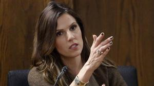 Taya Kyle, wife of former Navy Seal Chris Kyle, testifies at the murder trial of an ex-Marine accused of killing him (AP/Dallas Morning News)
