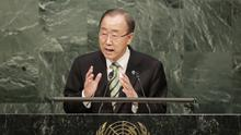 Ban Ki-Moon said the decision was 'one of the most painful and difficult' he has had to make as Secretary General (File photo - AP)