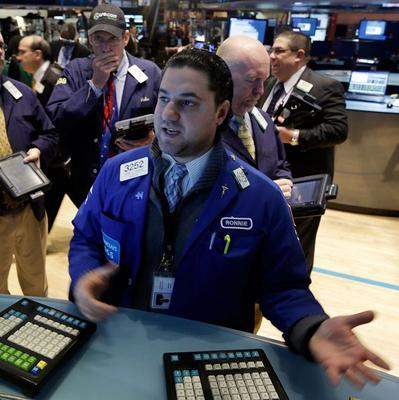 Stocks on Wall Street had their best day for more than a month (AP)