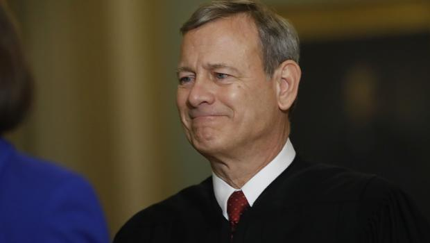 Chief justice of the United States, John Roberts (AP)